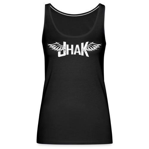 Jhak (Blanco) - Camiseta de tirantes premium mujer