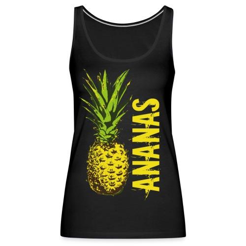 Ananas - Frauen Premium Tank Top
