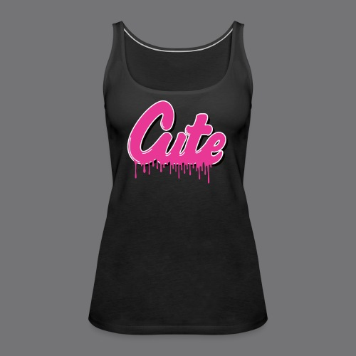 CUTE Tee Shirts - Women's Premium Tank Top