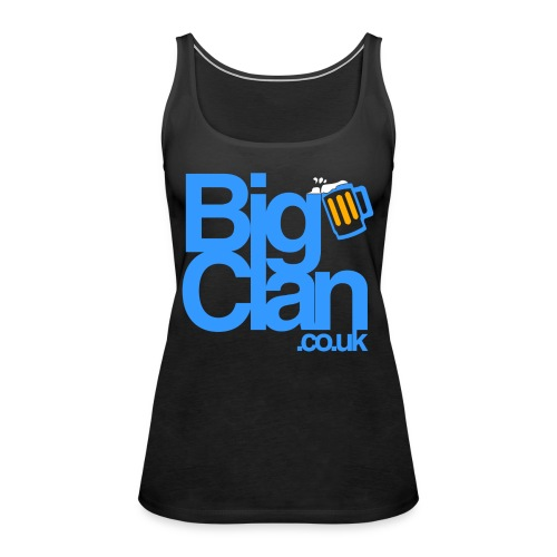 BIg Clan Logo Light Blue - Women's Premium Tank Top
