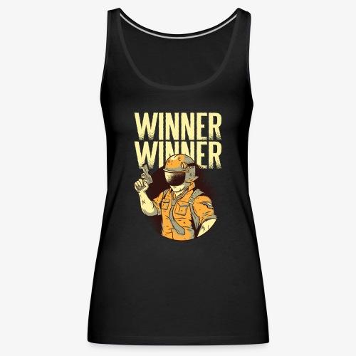 Winner Winner Gaming Gamer - Women's Premium Tank Top