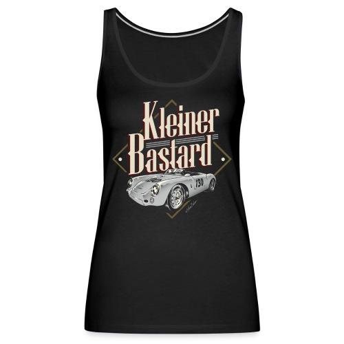 bastard only black tshirt - Frauen Premium Tank Top