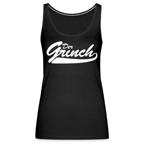grinch logo - Frauen Premium Tank Top