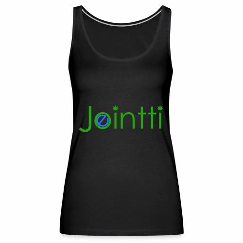 eJointti.com Logo - Naisten premium hihaton toppi