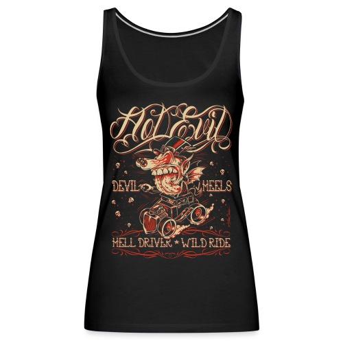 Hot Evil - Camiseta de tirantes premium mujer