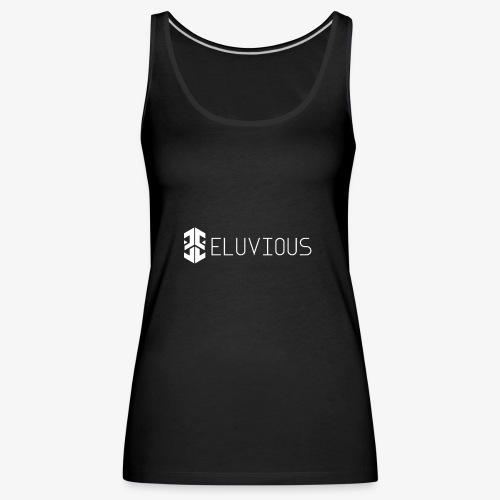 Eluvious   With Text - Women's Premium Tank Top
