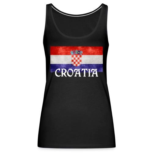 I Love Croatia - Frauen Premium Tank Top