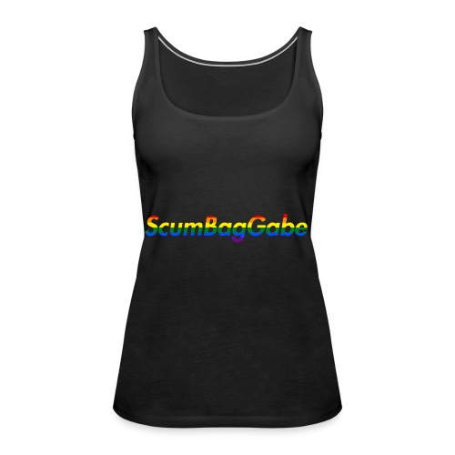 ScumBagGabe Multi Logo XL - Women's Premium Tank Top