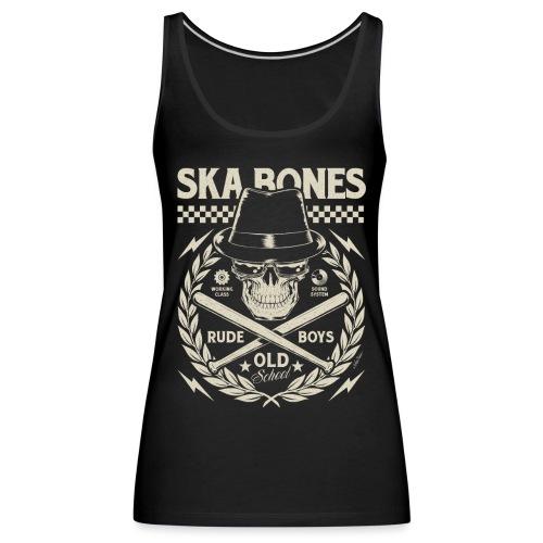skaskullsp - Camiseta de tirantes premium mujer