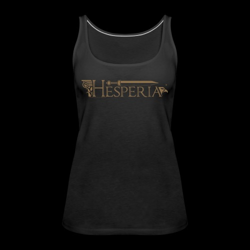 New Roman Logo - Women's Premium Tank Top