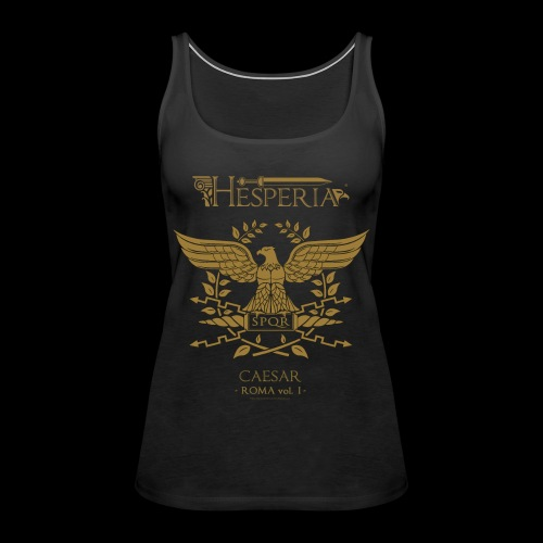 Roman Eagle (designed by Hesperus) - Women's Premium Tank Top