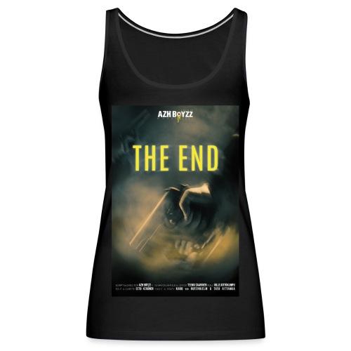 The End poster (1 print) - Naisten premium hihaton toppi