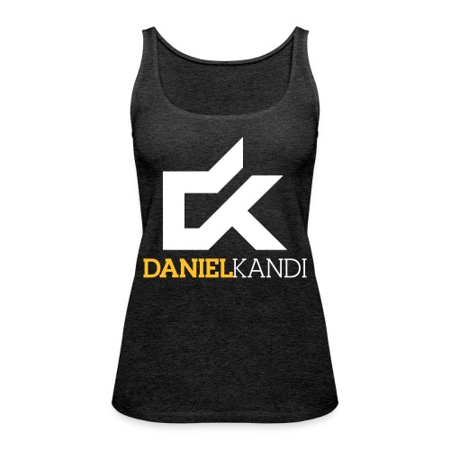 kandi black background - Women's Premium Tank Top