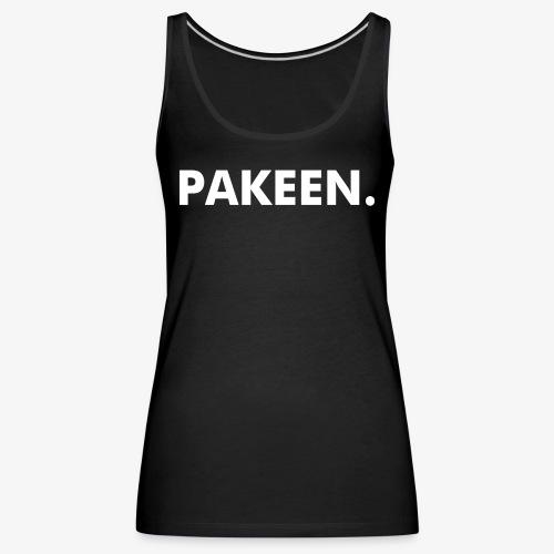 PAKEEN. Zwart - Vrouwen Premium tank top