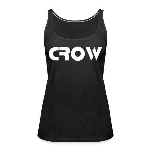 CROW-Trainingsjacke - Frauen Premium Tank Top