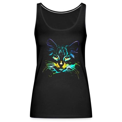 Vorschau: color kitty - Frauen Premium Tank Top