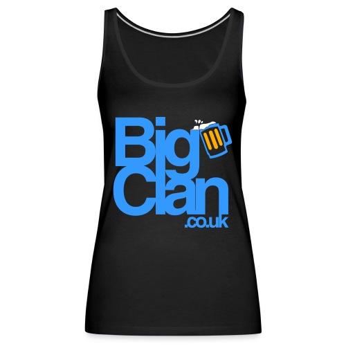BIg Clan Logo Light Blue - Women's Premium Tank Top