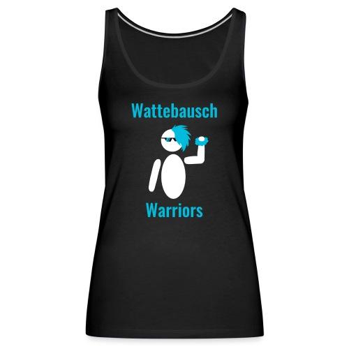 Wattebausch Warriors Türkis - Frauen Premium Tank Top