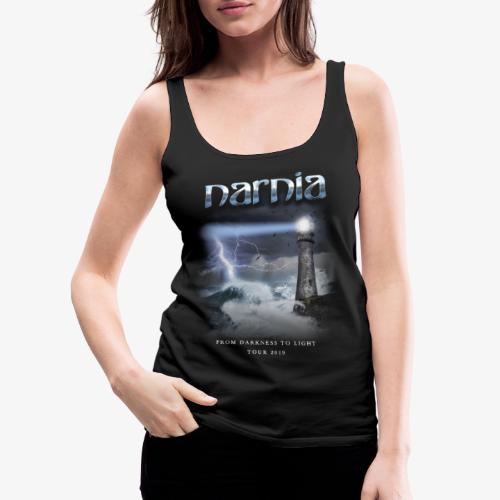 Narnia From Darkness to Light Tour 2019 - Women's Premium Tank Top