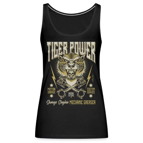 Poder del tigre - Camiseta de tirantes premium mujer