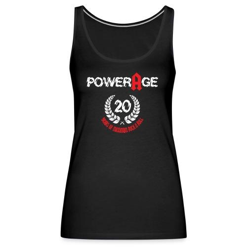 Powerage 20th Aniversary - Frauen Premium Tank Top