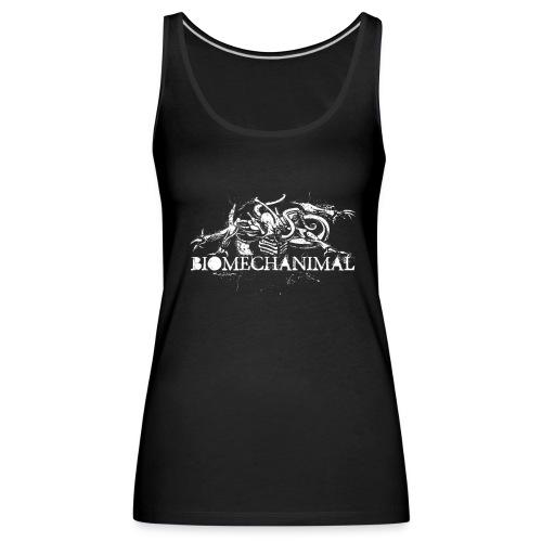 biomechanimalshirt png - Women's Premium Tank Top