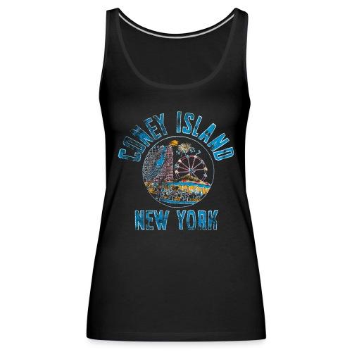 Coney Island NYC - Débardeur Premium Femme