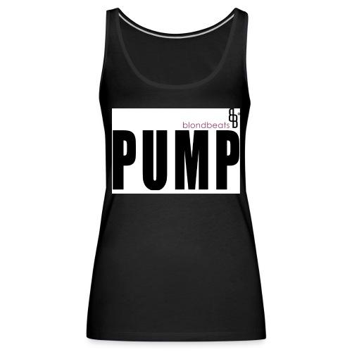 pump button by blondbeats - Frauen Premium Tank Top