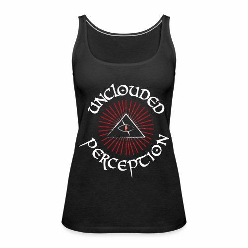 Logo red and white off. - Frauen Premium Tank Top