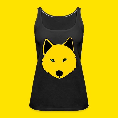 Jasja The Wolf - Women's Premium Tank Top