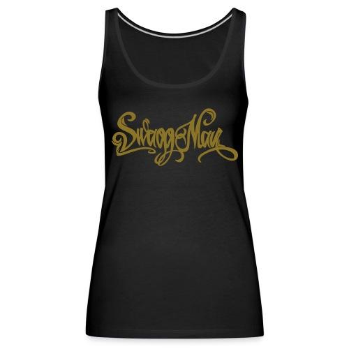Swagg Man logo - Débardeur Premium Femme