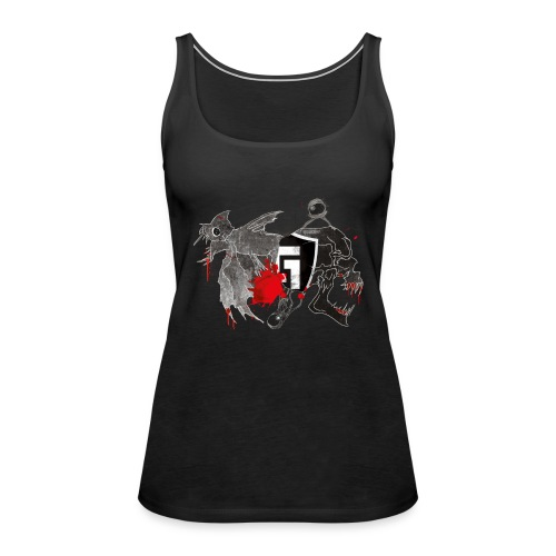 shirt2black - Women's Premium Tank Top