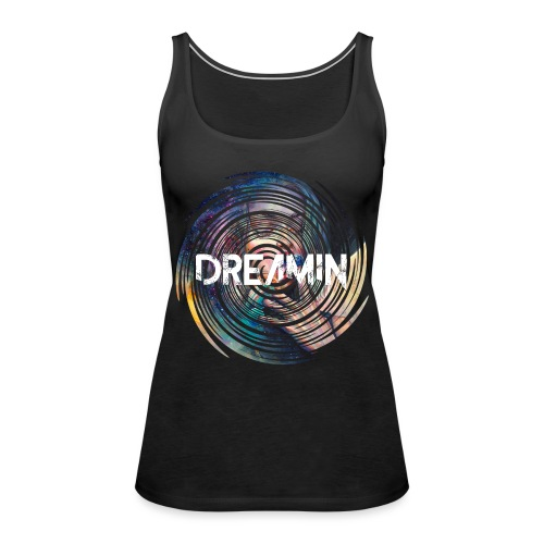 Dreamin Colorfull Print - Frauen Premium Tank Top
