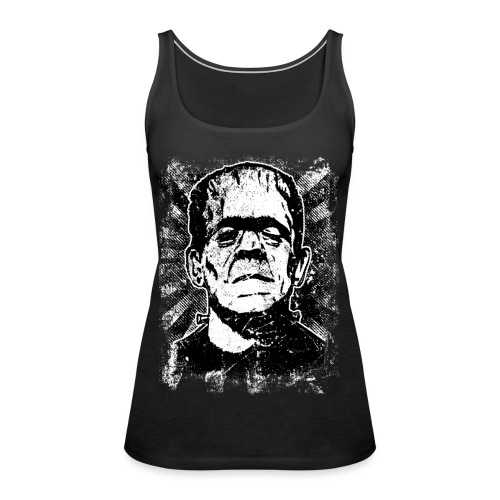 Boris Karloff/Frankenstein vintage sw - Frauen Premium Tank Top