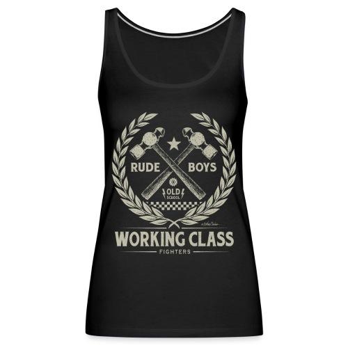 Working Class - Camiseta de tirantes premium mujer