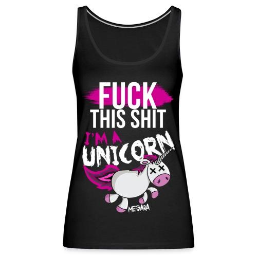 unicorn png - Camiseta de tirantes premium mujer