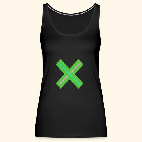 Vegan Day Tshirt - Women's Premium Tank Top