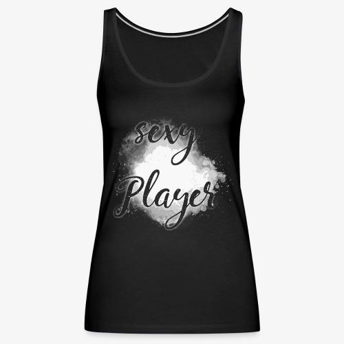 sexy player gamer spieler spiel black 2reborn - Frauen Premium Tank Top