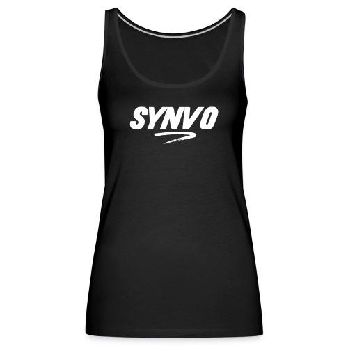 Black Synvo Designs - Women's Premium Tank Top