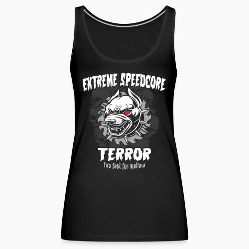 Extreme Speedcore Terror - Women's Premium Tank Top