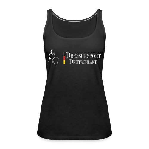 dressursport deutschland horizontal r - Frauen Premium Tank Top