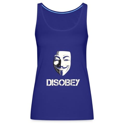 Anonymous Disobey gif - Naisten premium hihaton toppi
