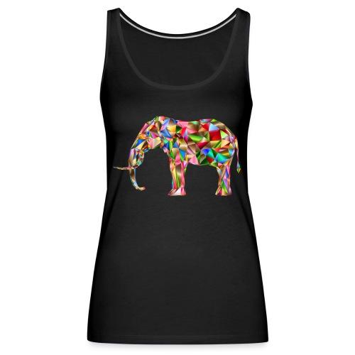 Gestandener Elefant - Frauen Premium Tank Top