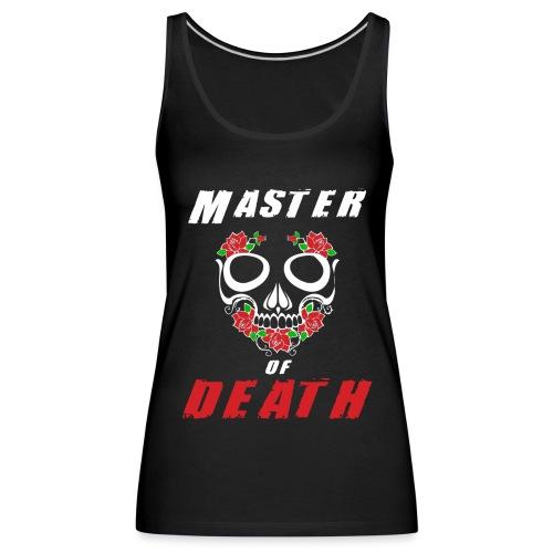 Master of death - white - Tank top damski Premium