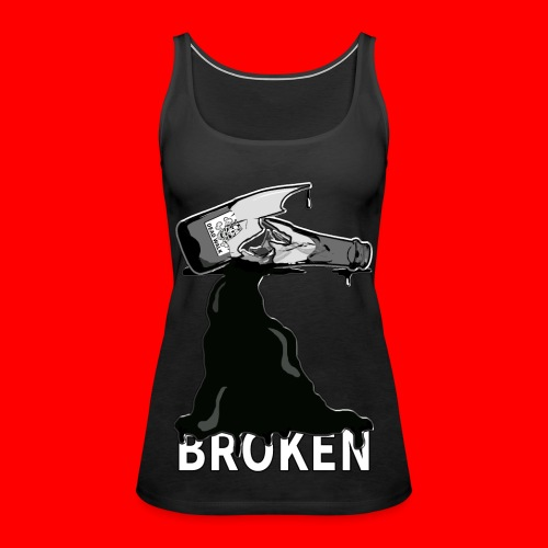 Broken - Women's Premium Tank Top