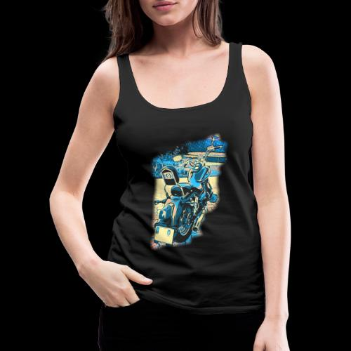 Chopper Pop-art - Daelim Daystar - Frauen Premium Tank Top