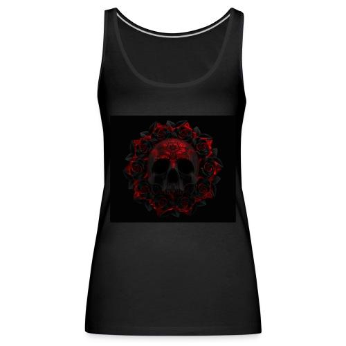 the skull - Camiseta de tirantes premium mujer