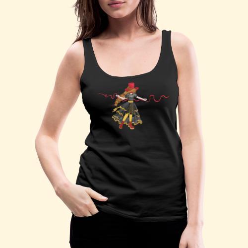 Ladybird - La célèbre uchronaute - Débardeur Premium Femme