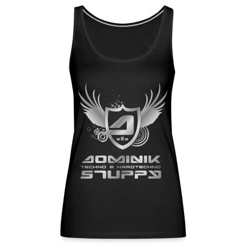 logo schriftzug silber png - Frauen Premium Tank Top