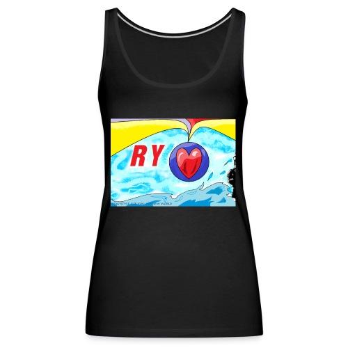 Ry diseños - Camiseta de tirantes premium mujer